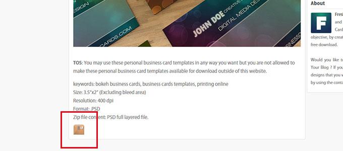 名刺データダウンロード freshbusinesscards.com