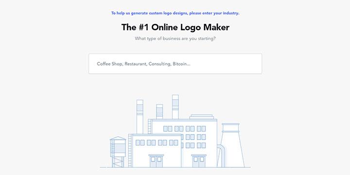 ロゴジャンル決定画面|Logojoy(ロゴジョイ)